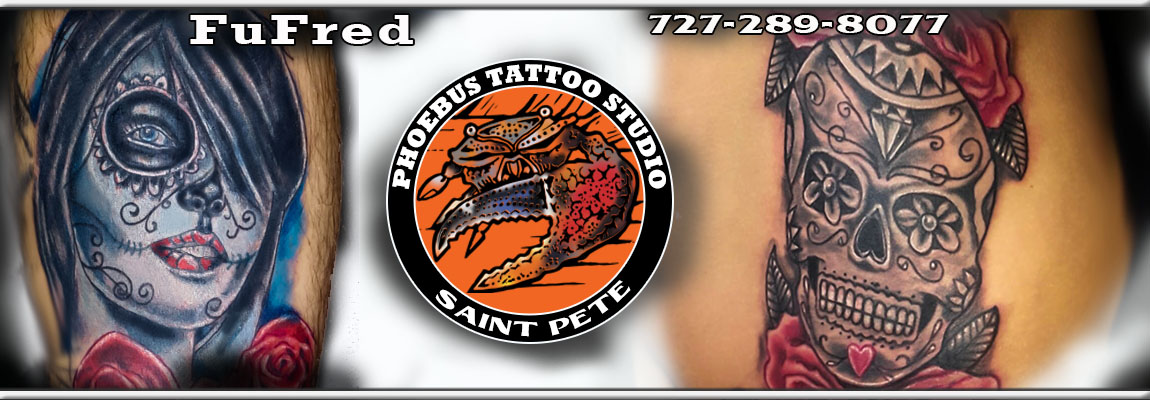 Fufred Phoebus Tattoos