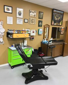 Phoebus Tattoos artist Station