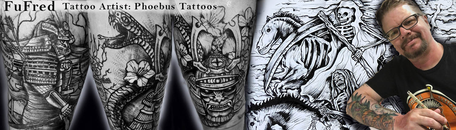 Tattoo Artist Fufred Phoebus Tattoos and Piercings St Petersburg FL