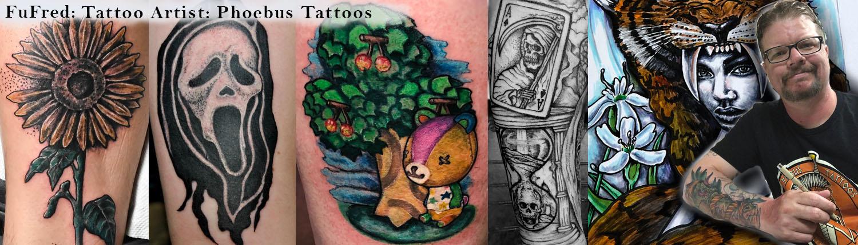 Tattoo artist Detail artwork Fufred