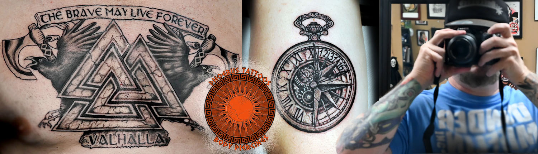 Tattoo ink Gallery portfolio Black Work, Colorful, Detail art