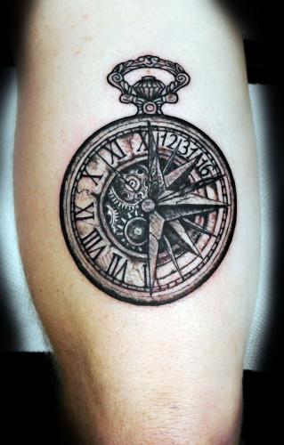 Clock and Compass