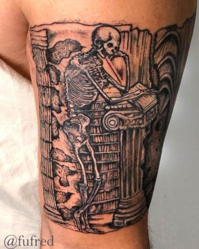 Andreas vesalius skeleton