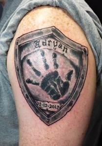 Battered shield