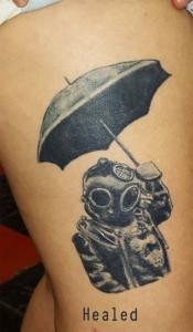 Deep sea diver Umbrella