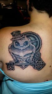 owl steam punk