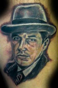 portrait godfather Al