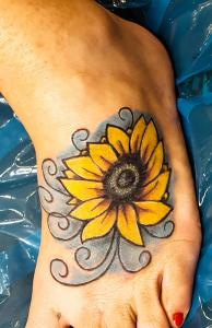 Sun Flower Cover up