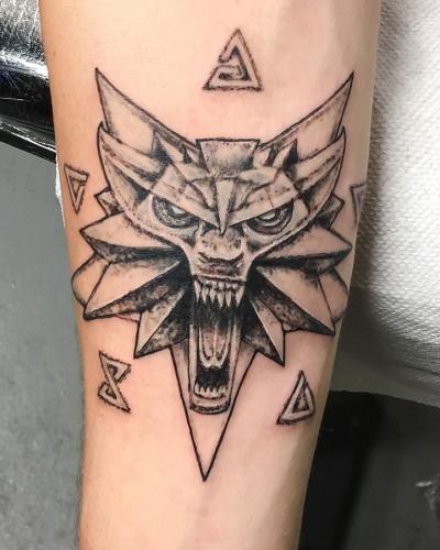 witcher white wolf